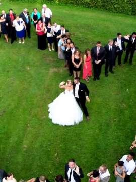 düğün hikayesi drone çekimleri